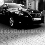 Już od 450zł Wspaniałe auto do ślubu czarny Lexus IS 300h